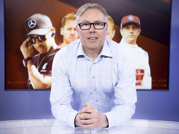 Jyrki Järvilehto toimii kaudella 2019 Iltalehden F1-asiantuntijana.