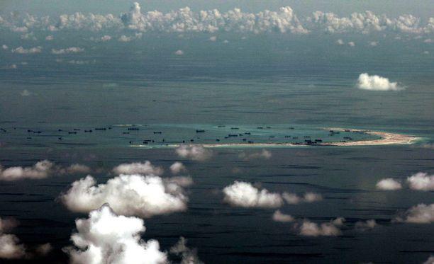 Venekunta on seilannut tiettävästi Paracel-saarten lähivesillä Etelä-Kiinan merellä.