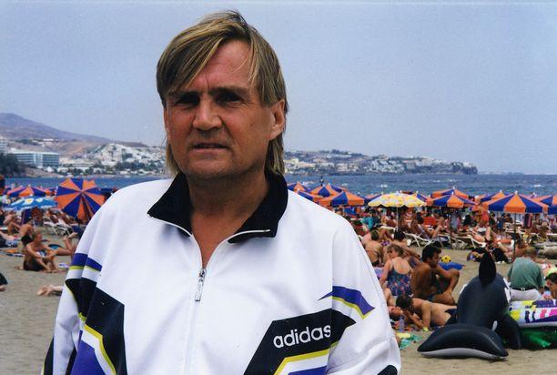 Jamppa Tuominen vietti viimeiset elinkuukautensa Kanariansaarilla.