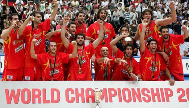 Espanja otti historiansa ensimmäisen koripallon maailmanmestaruuden sunnuntaina.