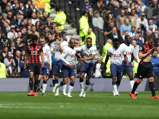 Tottenham-pelureilla oli hauskaa Huddersfieldia vastaan.