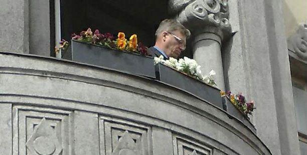 Apulaiskaupunginjohtaja Hannu Pietilä avasi historiallisen Sofiankadun.