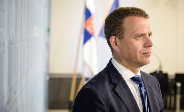 Kokoomuksen puheenjohtaja Petteri Orpo.