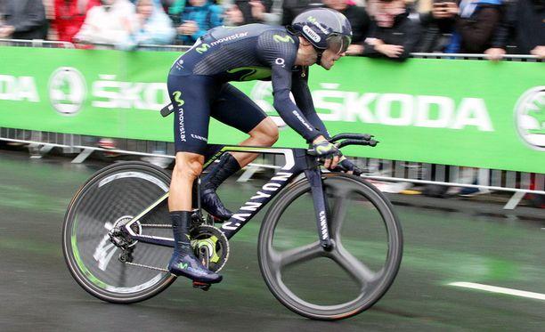 Alejandro Valverden kisa päättyi jo ensimmäisellä etapilla.