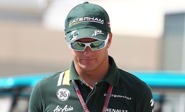 Heikki Kovalainen on vaarassa jäädä väliinputoajaksi.