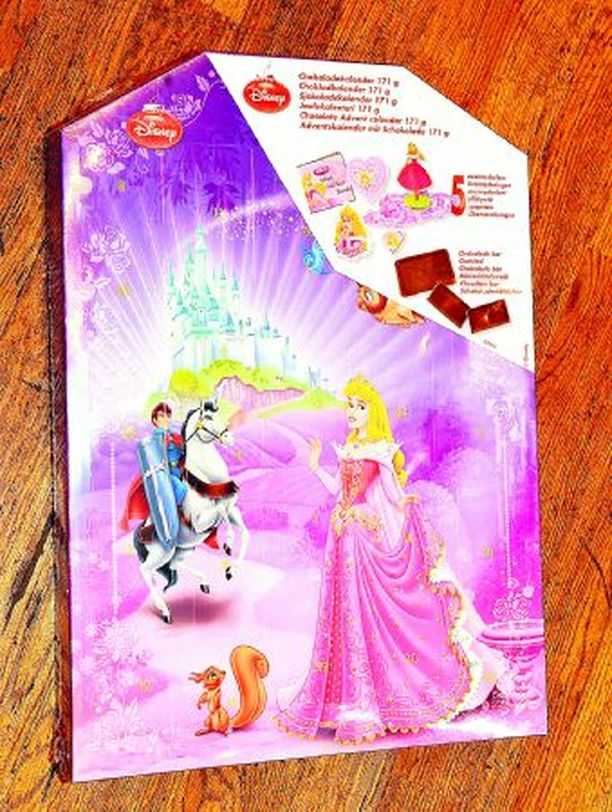 Disney Princess -suklaakalenteri, 14,30 e