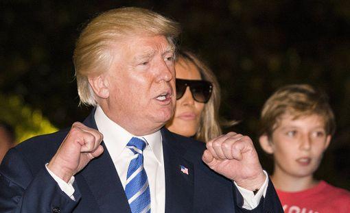Donald Trump on vaativa esimies.