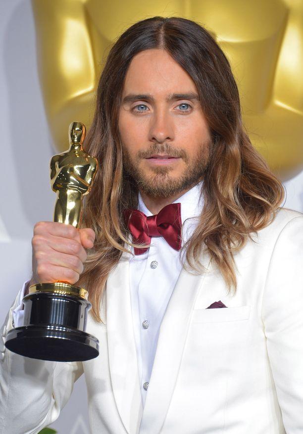 Jared Leton Oscar-patsaan olinpaikka on mysteeri.