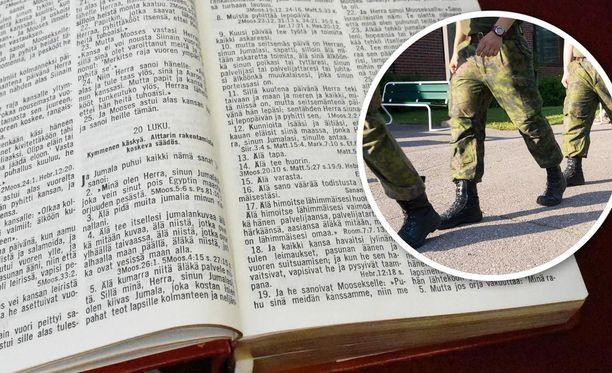 Vuosittain noin 70 Jehovan todistajaa tulee asevelvollisuusikään.