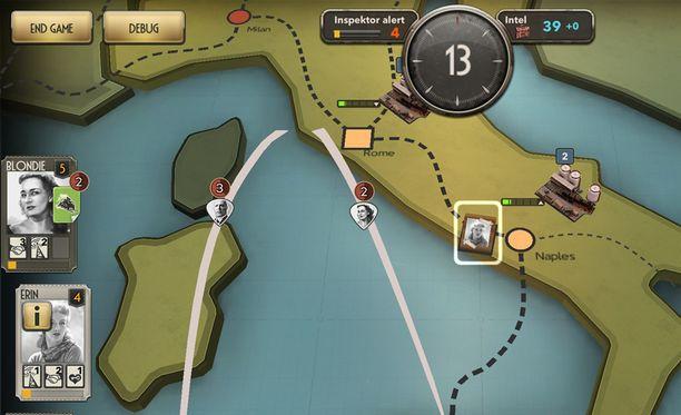 Kuva pelistä Spymaster.