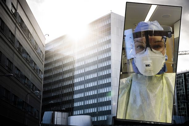 Iida Salminen riskeeraa oman terveytensä työskentelemällä sairaanhoitajana Husin koronaosastolla.
