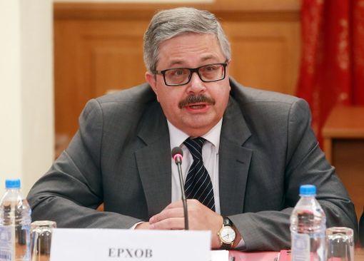 AOP:n välittämässä ITAR-Tassin kuvassa Venäjän uusi Turkin-suurlähettiläs Aleksei Jerhov.