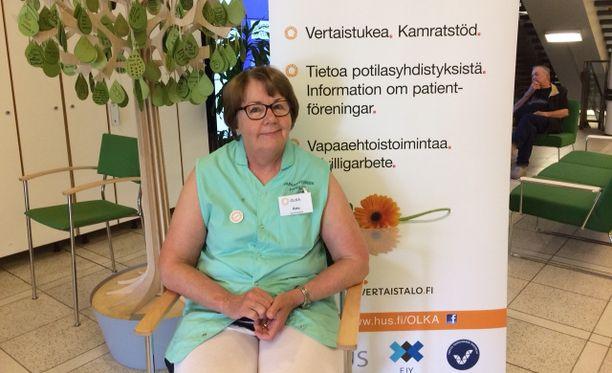 Anu Forsman haluaisi toivuttuaan jatkaa vertaistukitoimintaa syöpäsairaiden parissa. - Kohtaamisista saa itsekin hyvän mielen.