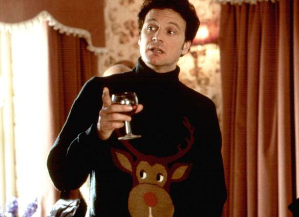 Rumille jouluaiheisille neuleille on naurettu muun muassa Bridget Jones -elokuvissa.