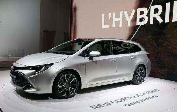 Toyota Corolla palaa markkinoille vanhalla nimellään ja ensisijaisesti hybridinä.