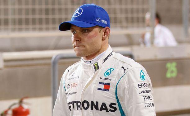 Valtteri Bottas ei ollut täysin tyytyväinen Bahrainin GP:n kakkossijaansa.