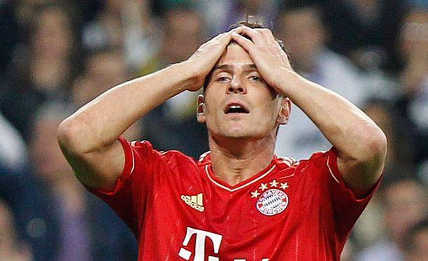 Tulipa mokattua, totesi Bayernin Mario Gomez.