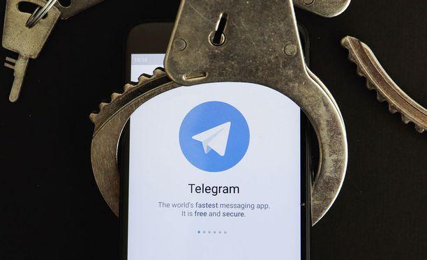 Venäjä kamppailee Telegramin kanssa.