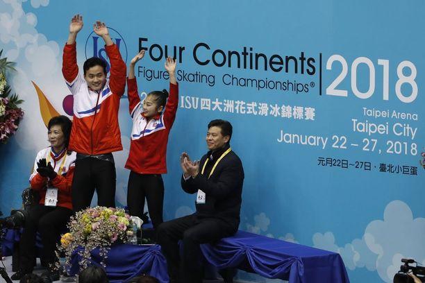 Taiwanin Four Continents -kilpailussa pari sijoittui neljänneksi lyhytohjelmallaan.