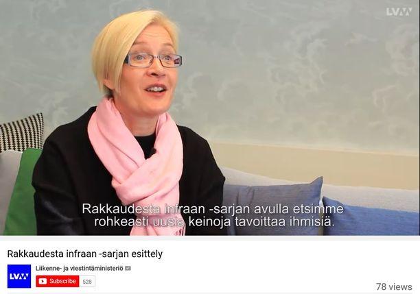 Viestintäjohtaja Susanna Niinivaara hyllytti tilaamansa videot ja kieltäytyi näyttämästä niitä Iltalehdelle.