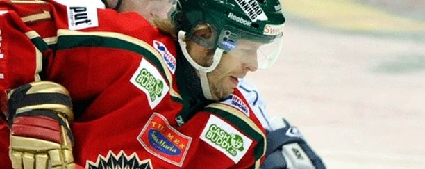 Tomi Kallio johdatti Växjön Elitserienin mestariksi.