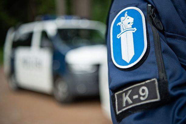 Poliisilla oli tiistaina koko päivän kestänyt operaatio Ivalon taajaman läheisyydessä. Kuvituskuva.