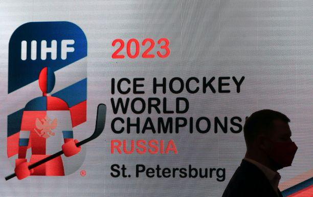 IIHF:n hallitus kokoontui tiistaina Pietarissa, jossa paljastettiin 2023 MM-kisojen logo.