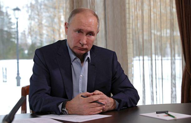 Vladimir Putin kiistää omistavansa ökypalatsin.