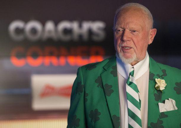Don Cherry on vaikuttanut jääkiekkoon laajalti. Kommentaattorin luoma brändi on toiminut esikuvana muun muassa Juhani Tammiselle.