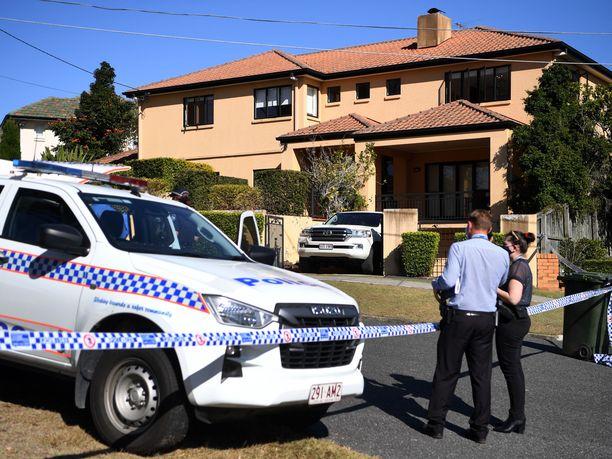 Poliisi tutkii Toutai Kefun tapausta Australian Brisbanessa.