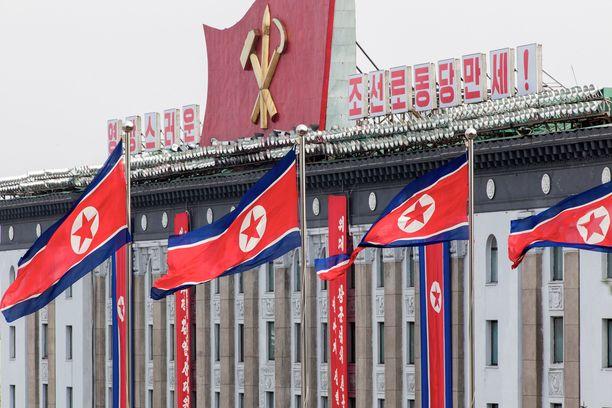 Matkailija ei saa liikkua vapaasti Pohjois-Koreassa.