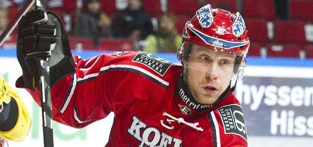 Hannes Hyvönen pelasi viime kaudella HIFK:n riveissä.