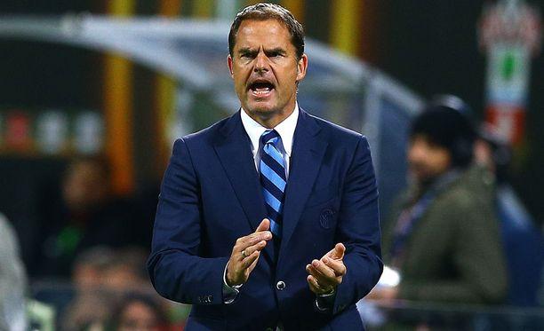 Frank de Boer nähdään ensi kaudella Crystal Palacen penkin takana.