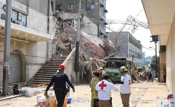 Suomen Meksikon-suurlähetystön tietoon ei ole tullut suomalaisuhreja Meksikon maanjäristyksessä.