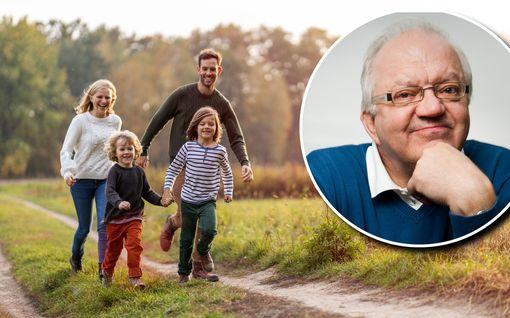 Jari Sinkkonen kertoo, miten teet lapsestasi onnellisen – oikaisee yleisen väärinkäsityksen