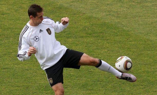 Miroslav Klose uhkuu itseluottamusta.