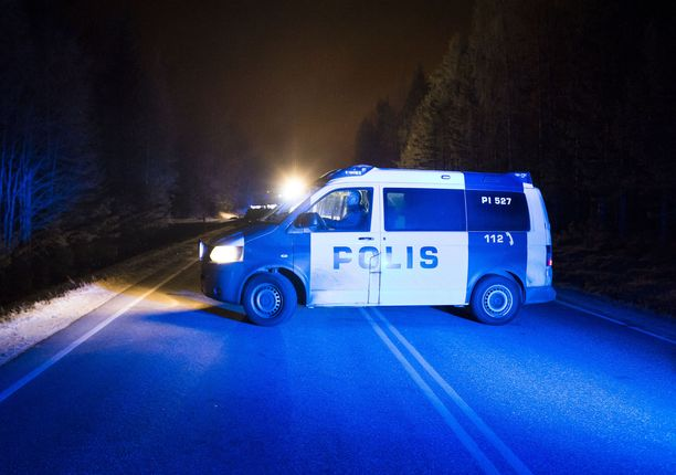 Ammuskelu tapahtui noin kello 00.15 sunnuntain vastaisena yönä Sastamalan keskustassa. Arkistokuva.