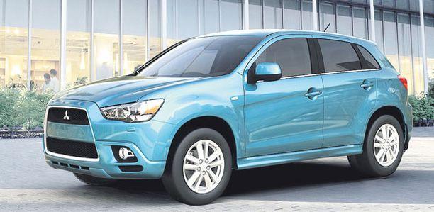 UUTUUS Mitsubishin mallisto saa uuden tulokkaan.