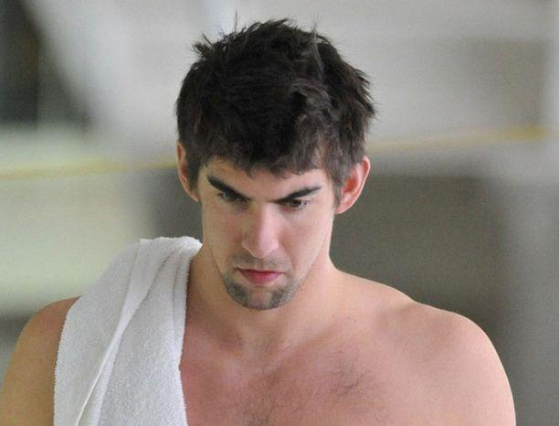 Piippu-Phelps on palannut altaaseen.