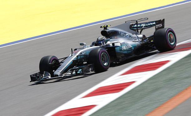 Valtteri Bottas yrittää parantaa vuoden takaista kolmatta lähtöruutua Venäjän GP:ssä.