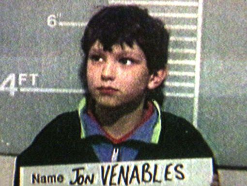 Jon Venables kymmenvuotiaana.