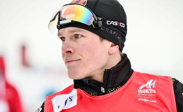 Falunin MM-kisoissa radalla on ajokoiramainen Matias Strandvall.
