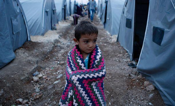 Syyrian sota on ajanut maan syvään humanitaariseen kriisiin.