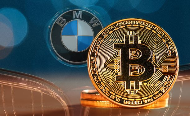 Bitcoineilla voi nyt ostaa vaikka auton. Kuvituskuva.