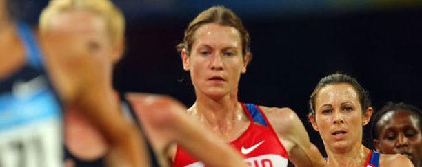Maria Konovalovalle (kuvassa keskellä) langetettiin kahden vuoden kilpailukielto.