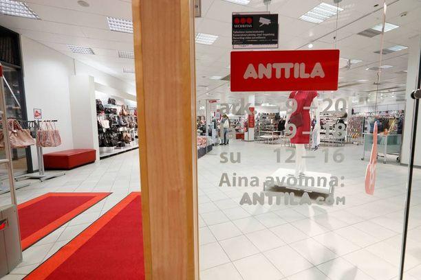 Anttila hakeutui konkurssiin 19.7.2016.