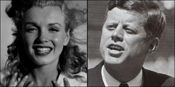 Näyttelijä Marilyn Monroen ja presidentti John F. Kennedyn salasuhteen todisteita hävitettiin järjestelmällisesti.