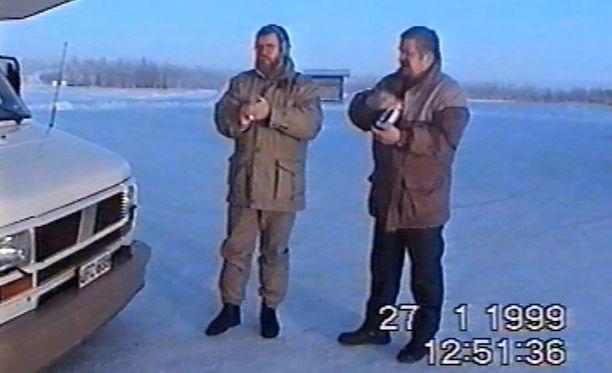 Veikko Siirilä oli mökkireissulla Lapissa vuoden 1999 ennätyspakkasilla.