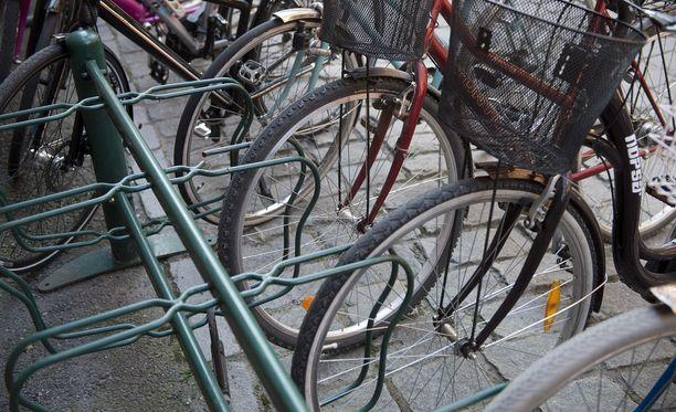 Pyörävaras sai ison saaliin Salossa. Kuvituskuva.