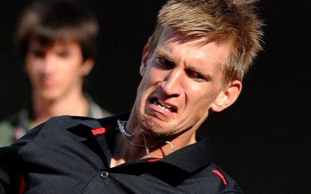 Jarkko Nieminen koki tappion Roomassa.